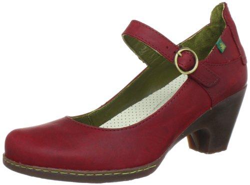 El Naturalista N860, Scarpe con tacco donna, Rosso (Rot (Rioja)), 41