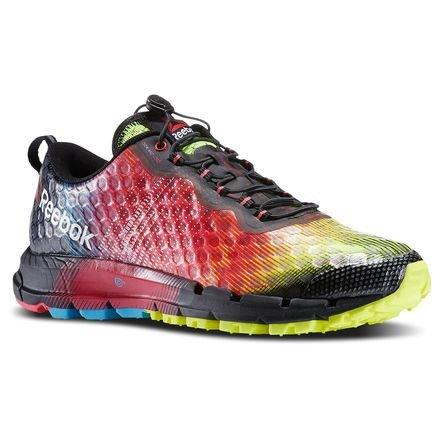 Trail Running Shoes REEBOK ALL TERRAIN THUNDER 2.0 (Yellow/Pink/Blue/Black) COD. M45649 (38.5)