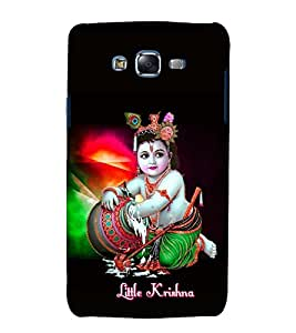 printtech Lord God Krishna Back Case Cover for Samsung Galaxy Grand Max G720