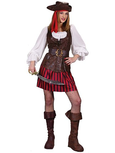 High Seas Women's Buccaneer Costume