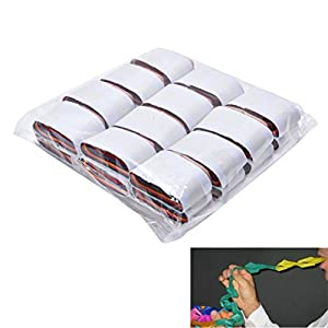 Littlepiano 12 Pcs/set Mouth Coils Paper Magic Tricks Magic Prop Magician Supplies Toys