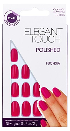 elegant-touch-polished-ongles-oval-fuchsia