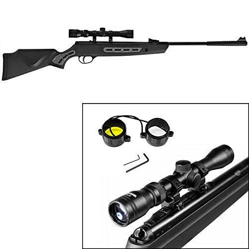 Hatsan 1000S Striker Combo Air Rifle, Black air rifle