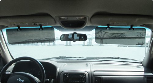 Glare Shield Sunvisor - Adonai Series 3 glare 30