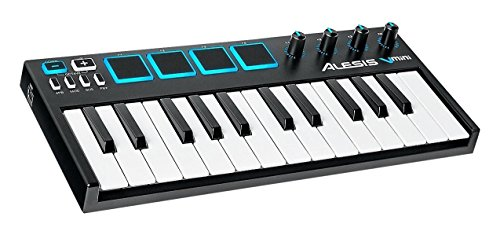Alesis-V-Mini-Teclado-controlador-MIDI-USB-porttil-de-25-teclas-con-software-Xpand2