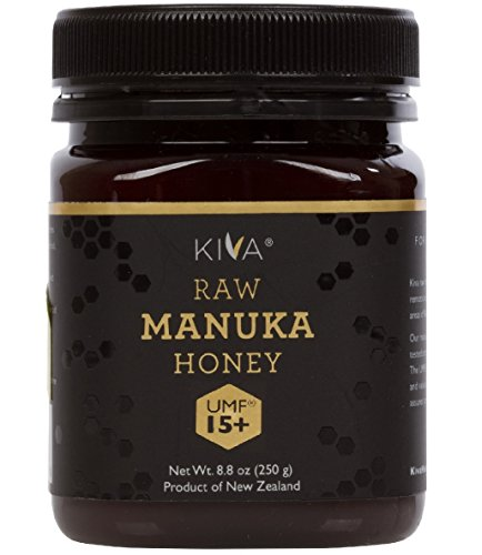Kiva Certified UMF 15+ - Raw Manuka Honey (8.8 oz)