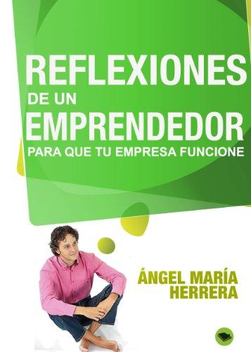 Reflexiones de un emprendedor para que tu empresa funcione de Ángel María Herrera