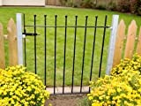 Wetherby Metal Garden Gate - Ready to fit with 2 posts