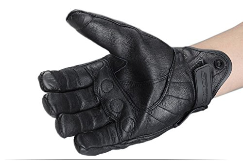 Size L Retro Motorcycle racing gloves Motocross Waterproof Moto full finger glove Windproof leather Touch gloves 2