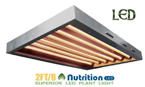 Aibc Led Bs045D1 Supert 2Ft 6Tb. T5 60W Grow Light Panel