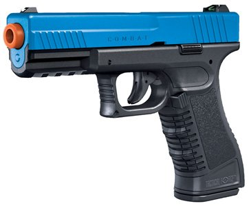 Tactical Force Combat CO2 pistol, LE Blue. Airsoft guns.
