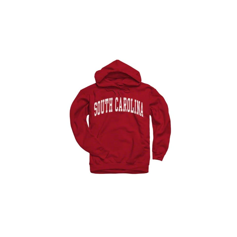 South Carolina Gamecocks Cardinal Arch Hooded Sweatshirt