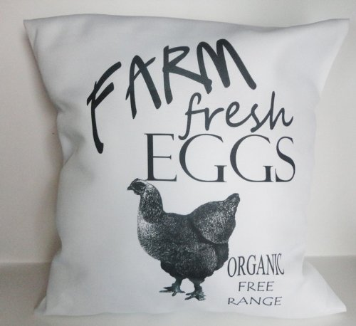 Farm Fresh Eggs Pillow Sham
