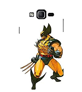 Evaluze superhero Printed Back Cover for SAMSUNG GALAXY ON7 PRO 2016