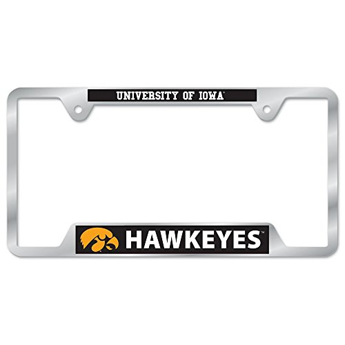 NCAA University of Iowa Metal License Plate Frame (Sports Team License Plate Frames compare prices)