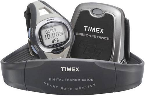 Cheap New+Timex Mid-Sized Ironman Triathlon Bodylink System (T5G311)