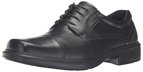 ECCO Men's Helsinki Cap-Toe Oxford Dress Shoe,Black,45 (US Men's 11-11.5) M (Ecco Shoes compare prices)