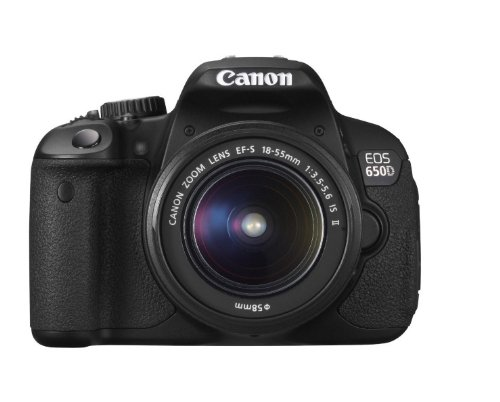 Canon EOS 650D Digital SLR Camera