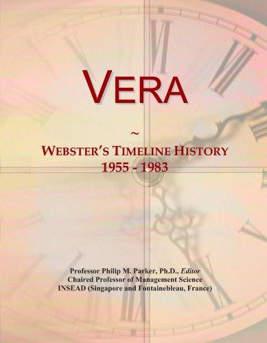 Vera: Webster's Timeline History, 1955 - 1983