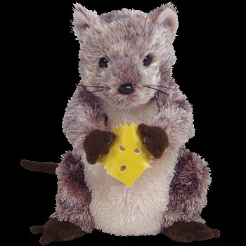 Ty Beanie Babies - Cheesly the Mouse