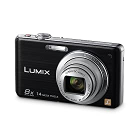 Panasonic DMC-FH22 14.1 MP Digital Camera with 8x Optical Zoom and Touchscreen - Black