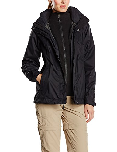 The North Face Damen Doppeljacke Evolve II Triclimate, schwarz, S, T0CG56 -
