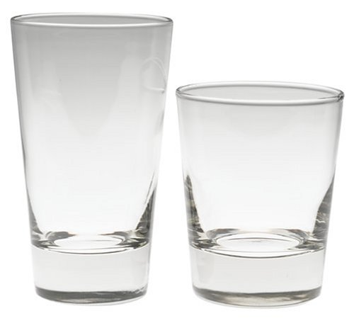 Libbey Geo Heavy Base Tumblers, Set of 16