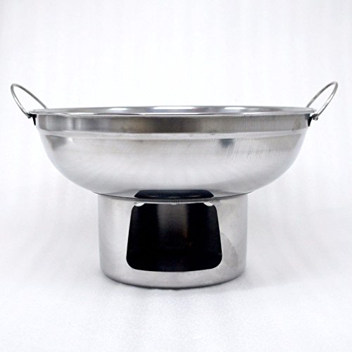 22 cm. HOT POT STAINLESS STEEL WARE SERVING BOWL OF TOMYUM Thai Soup, OTHER SOUP (Regal Griddle compare prices)