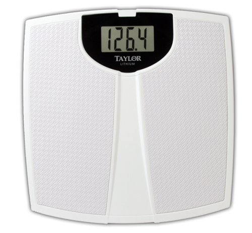Cheap Bathroom Scales Free Delivery: Buy Low Price Taylor 7323 Lithium Scale, Large Display