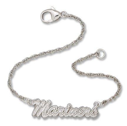 Seattle Mariners Script Bracelet