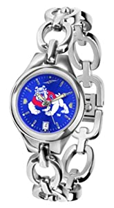 Fresno State Bulldogs Eclipse Ladies Watch with AnoChrome Dial by SunTime