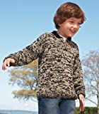 marled brown sweater
