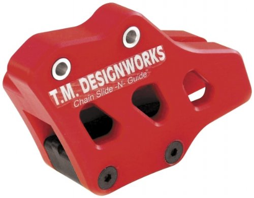 T.M. Designworks Factory Edition Rear Chain Guide - Red Rcg-Crm-Rd