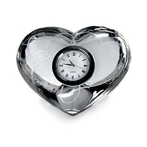 Mikasa Love Story Glass Clock