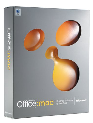 Microsoft Office X For Mac Upgrade [Old Version]