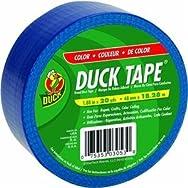 ShurTech Brands, LLC 527267 Duck Tape Colored Duct Tape-BLUE DUCK TAPE