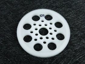 3Racing #3R/3Rac-Sg64128 64 Pitch Spur Gear 128T For Most Rc Cars