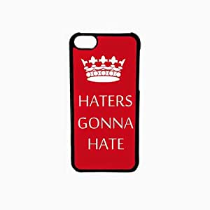 Krazycases Haters Back Shell Cover For Apple Iphone 5C
