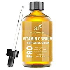 ArtNaturals Presents:  Artisanal Quality, Natural Beauty. True Vitamin C Healing with Key Organic Infusions The Most Effective, Gentile, Organically Infused Vitamin C Serum Available Today. ArtNaturals Vitamin C Serum. ArtNaturals is proud t...