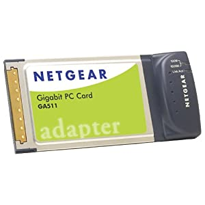 Gigabit Ethernet Cards on Amazon Com  Netgear Ga511 Gigabit Ethernet Pc Card  Electronics