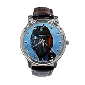 [ZhuYou] Custom Mass Effect 3, Action Fashion Design Personalized Men Women Wrist Watch Leather Band Men's Sport Watch hot!