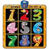 Madsbag Dart Game Playmat Fun Activity Mat For Kids Children (Cute Animals)