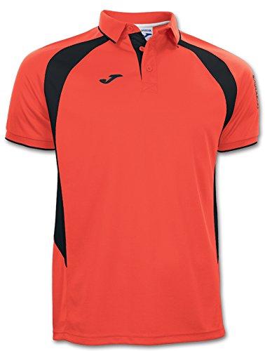 Joma Polo Champion III Dark Orange Fluor/Black M/C, Taglia: XXXL