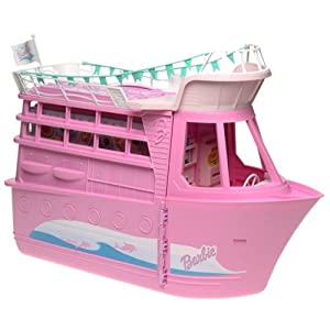 Barbie Doll House Boat Party Cruise Ship Playset Camera
