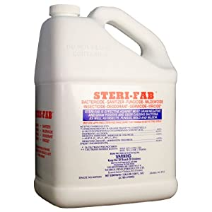 Steri-Fab Bactiricide-Sanitizer-Fungicide-Mildewcide-Insecticide (4 Gallons) by Noble Pine
