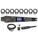 dbx DriveRack PA2 PA Management System w/ RTA-M Measurement Microphone, Cables Bundle (Tamaño: Bluetooth Headphones-2_modelEar640)