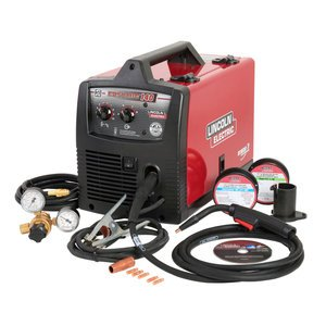 - Lincoln Electric Easy MIG 140 115V Flux Cored/MIG Welder - 140 Amp Output, Model# K2697-1 image
