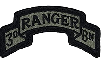 75th Ranger 3rd BN ACU Patch Foliage Green