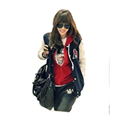 Buy Baseball Uniform for Women Free Size Navy Blue by Concentricshop Outerwear & Coats