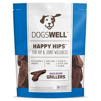 Dogswell Happy Hips Grillers Dog Treats 13.5 oz. Duck (Dogswell Duck Grillers compare prices)